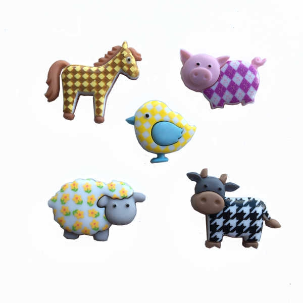 embellishment pack - funky farm